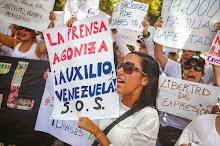 Deterioro democrático destruye libertad de prensa en Venezuela