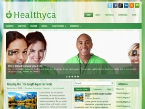Healthyca - Free Wordpress Theme