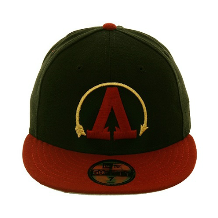 http://shop.theclinkroom.com/the-clink-room-2tone-arrows-fitted-hat-black-maroon-metallic-gold.html