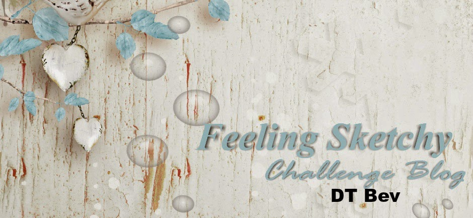 Feeling Sketchy Challenge Blog Designer April 2015 - June 2018