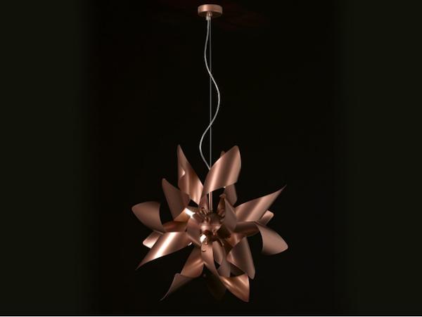 Eleganti originali e di tendenza: le lampade con gli inserti in
