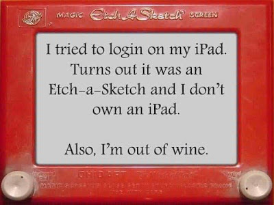 Wine Wit: Etch-A-Sketch