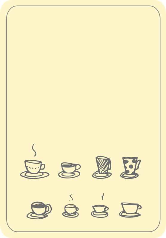 Free Printable Coffee Doodle Journaling Cards