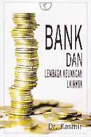 toko buku rahma: buku BANK DAN LEMBAGA KEUANGAN LAINNYA, pengarang kasmir, penerbit rajawali pers