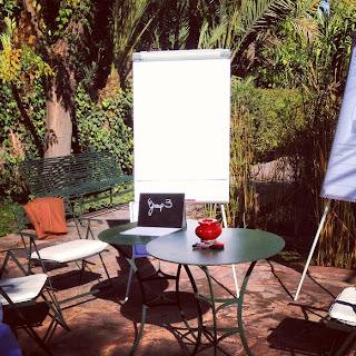 Privatisation pour une entreprise à l'hôtel Les Deux Tours à Marrakech