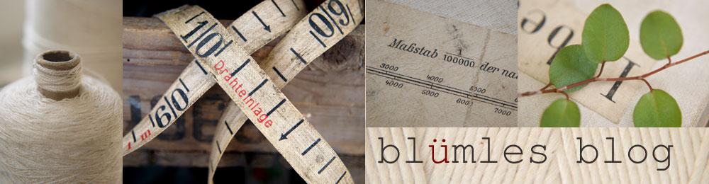 blümles blog