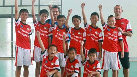 Học viện NutiFood HA.GL Arsenal JMG tuyển sinh khắp cả nước