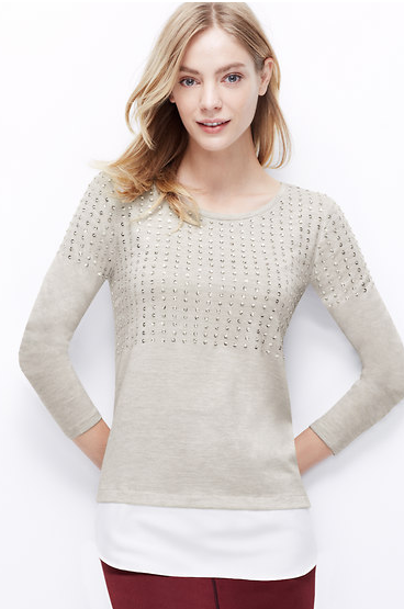 http://www.anntaylor.com/embellished-woven-shirttail-hem-top/355785