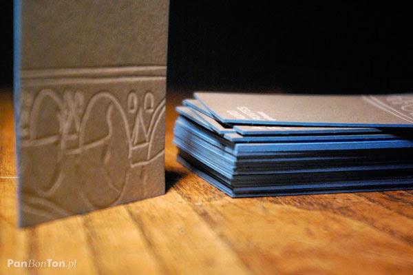 Auro Pontes letterpressed card