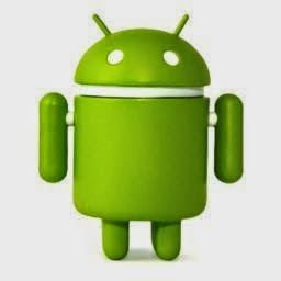 Foto Android (robot hijau)