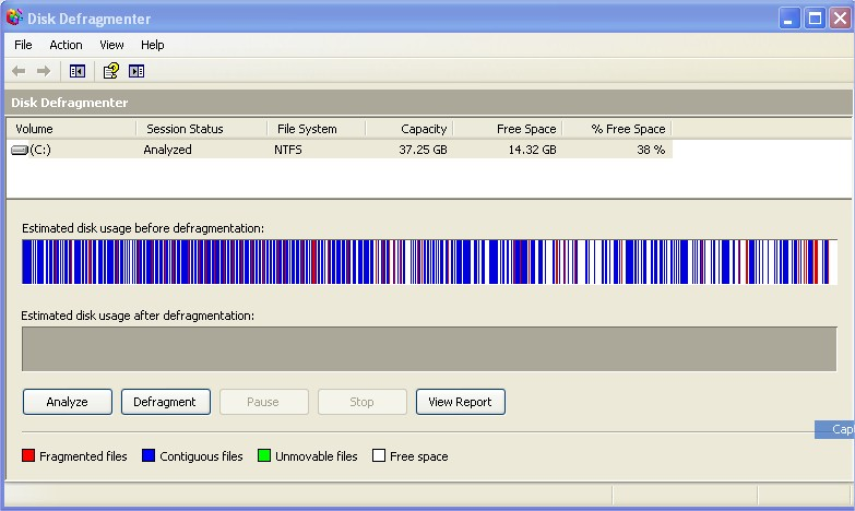 Power defragmenter gui contig 2.0 any windows very small