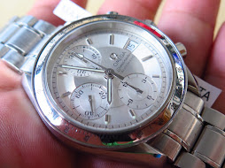 OMEGA SPEEDMASTER CHRONOGRAPH WHITE SILVER DIAL - AUTOMATIC