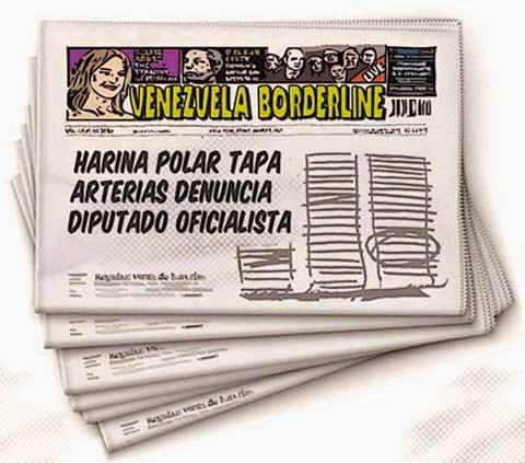 Front page cómic - Harina Polar Venezuela