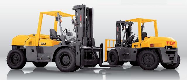 Xe nâng Diesel TCM