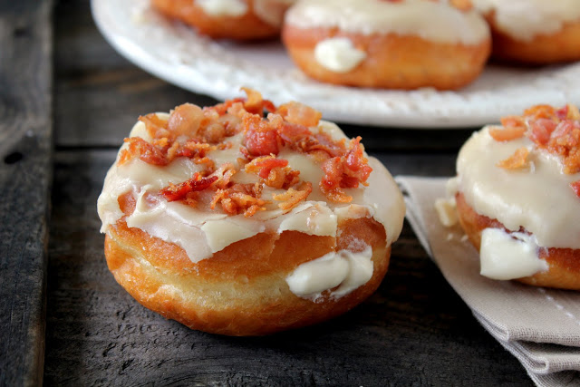 My Favorite Things: Maple Bacon Donuts from Cherry Tea Cakes