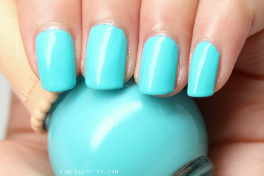 Manicure Monday: Etude House Ice Cream Nails in Blue Mint BL601 ...