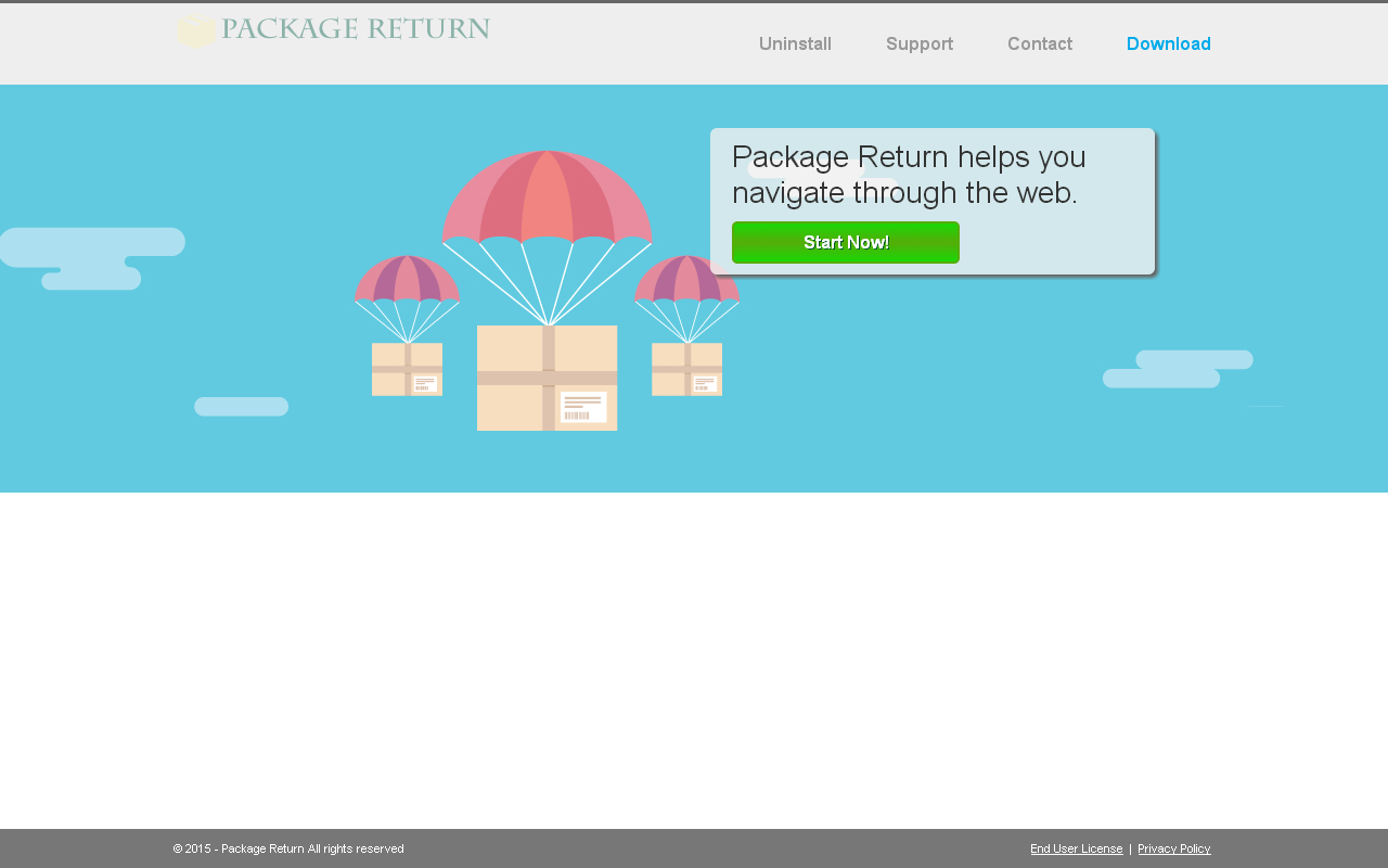 Package Return adware