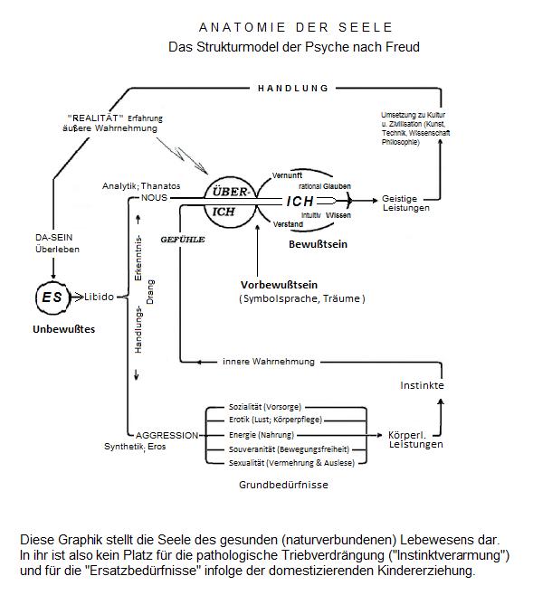 Das 3-Instanzen-Modell der Psyche