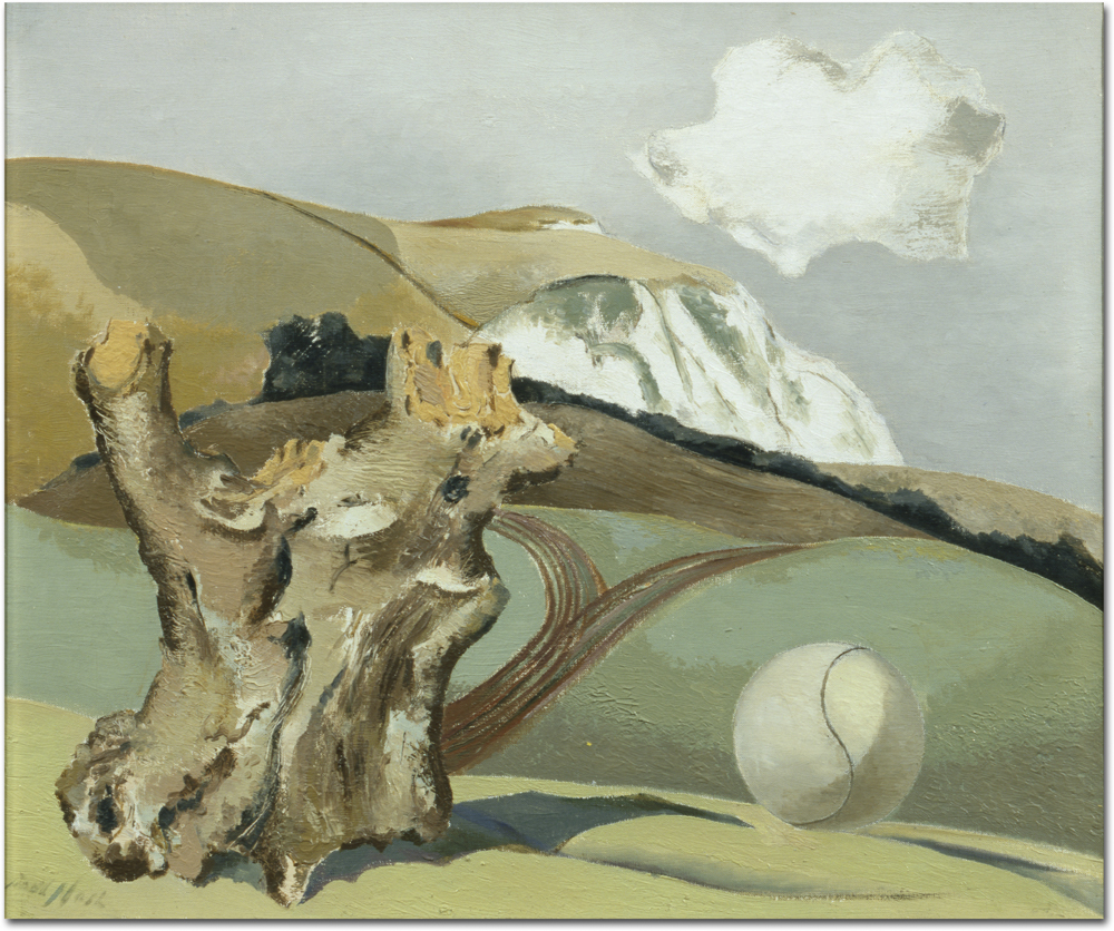 an analysis the painting of the battle of britain by paul nash