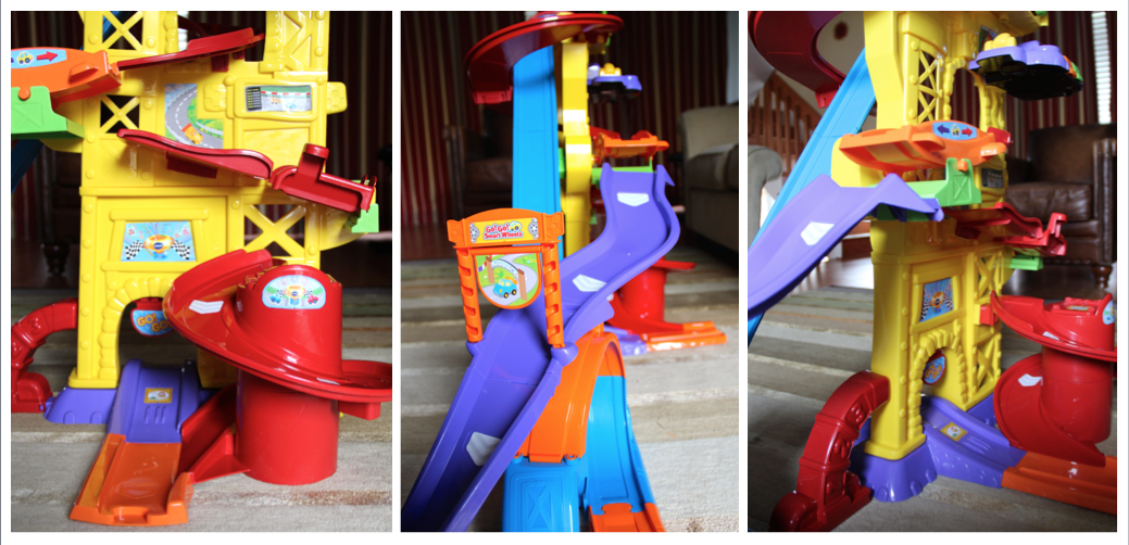 Go! Go! Smartwheels Ultimate Amazement Park Playset by VTech obstacles
