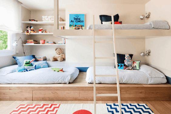 La Fabrique à Déco: Une chambre pour plusieurs enfants : astuces ...