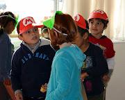 Mario/Luigi posterboard hats · Mario Kart pens · Mario Kart stickers .