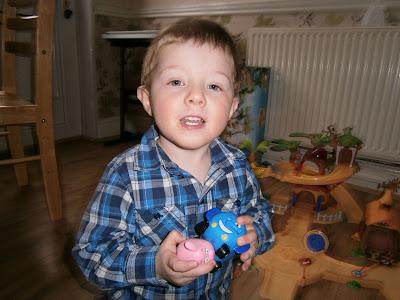 toddler loves the jungle junction toys