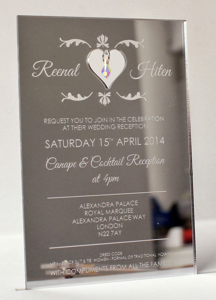 Personalised Contemporary Clear Perspex Acrylic