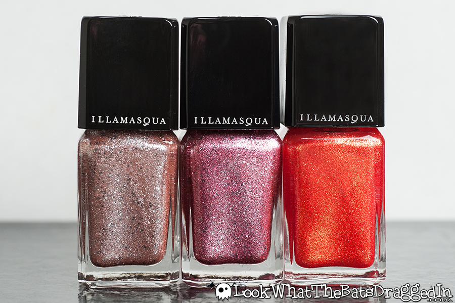 Illamasqua Shattered Star nail polish Glamore Collection Trillaint Fire Rose Marquise