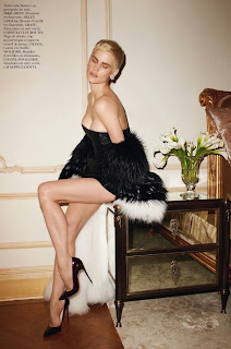 Magazine Photoshoot : Saskia de Brauw Photoshot For Terry Richardson Vogue Magazine Paris February 2014 Issue