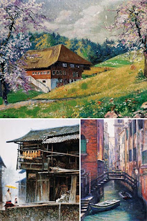 Китайский пейзаж 20-го века
