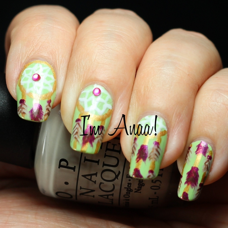 The Astonishing Dreamcatcher nail designs Picture