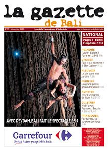 la gazette de Bali décembre 2011