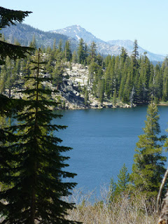 Round Lake with Mount Tallac in the background