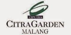 LOWONGAN KERJA PT. CITRA GARDEN CITY MALANG (PT. CIPUTRA RESIDENCE) APRIL 2015