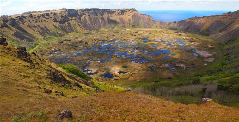 Volcán Rano Kau - Isla de Pascua