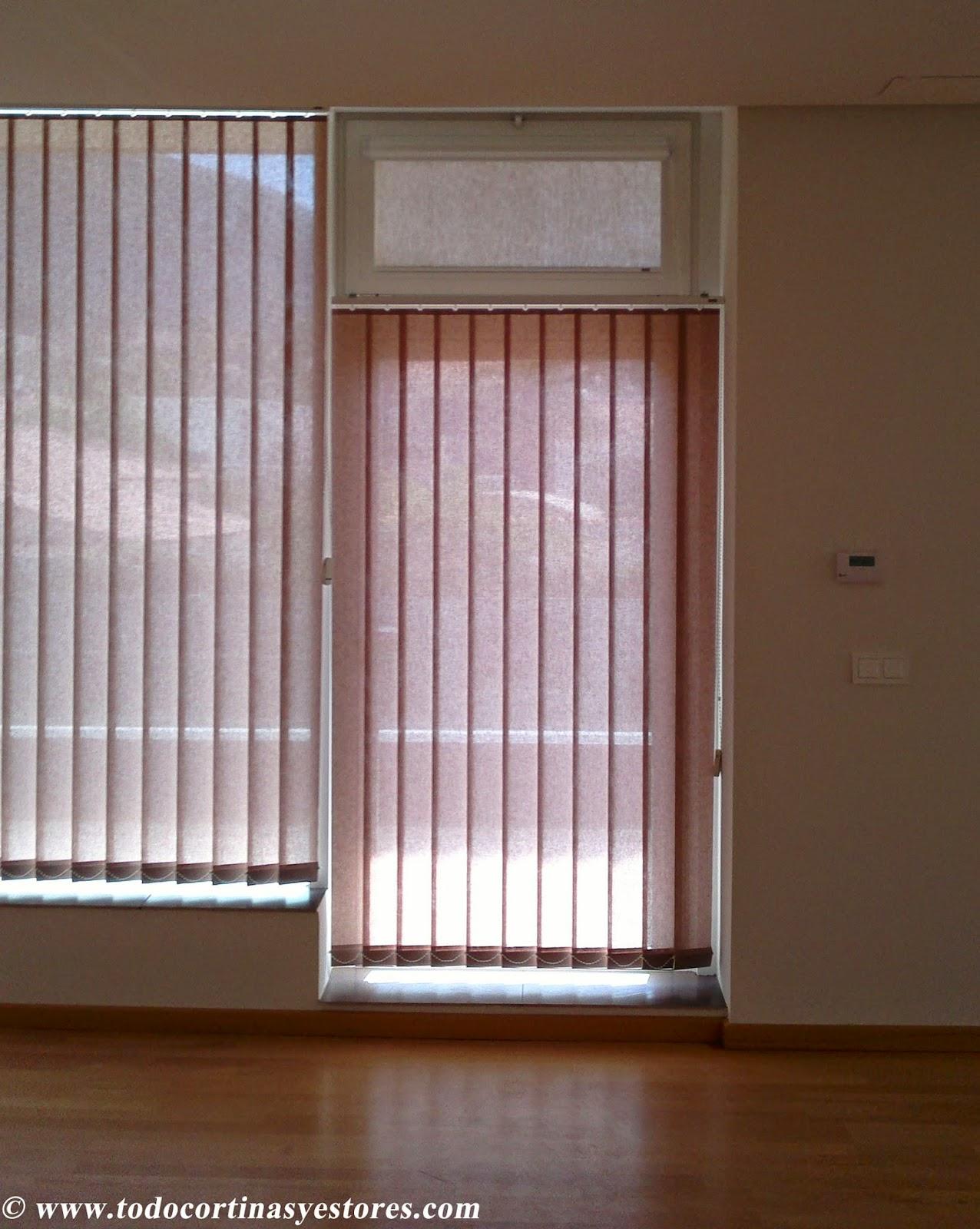 Decoracion interior cortinas verticales estores - Cortinas estores ...