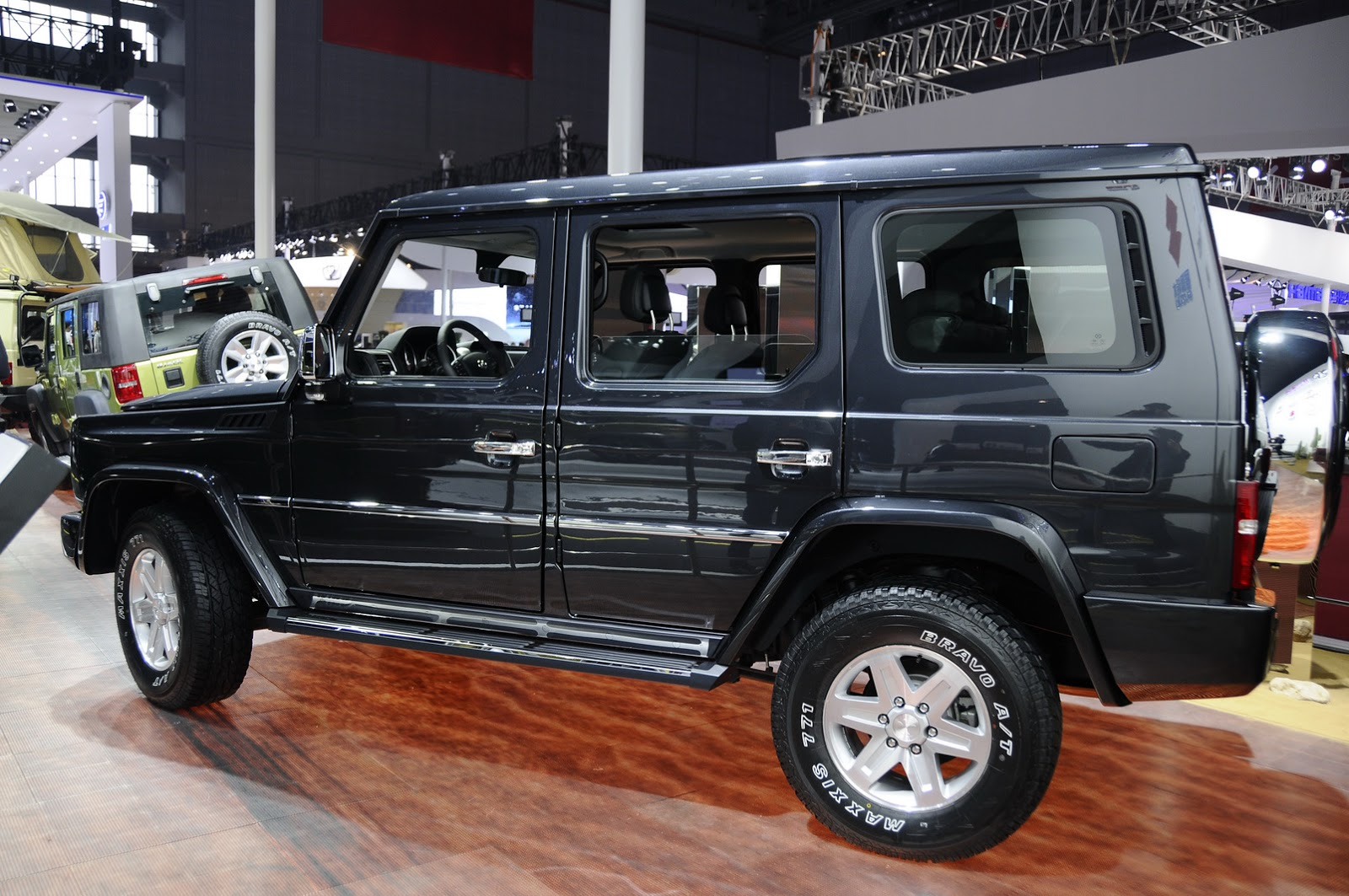 New Baic Bj80c When Mercedes Chinese Partner Cloned Its G Class