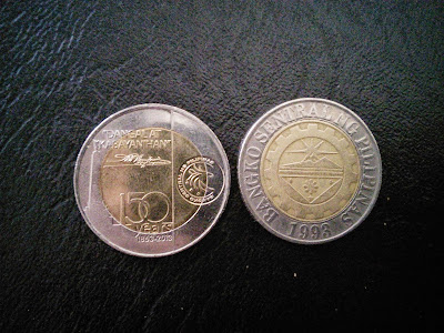 new 10 peso coin back