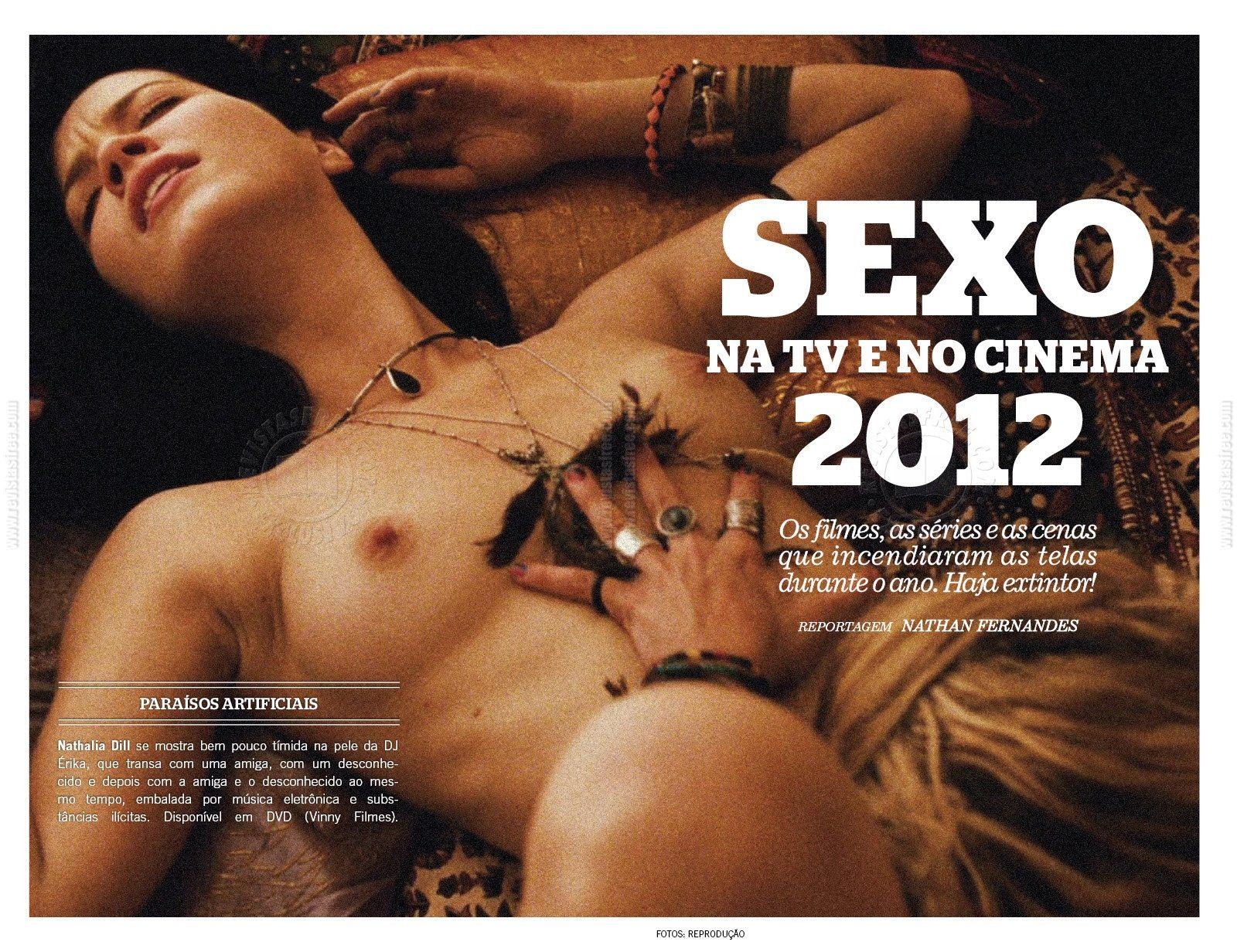Dill Nua No Filme Para So Artificiais Confira Nath Lia