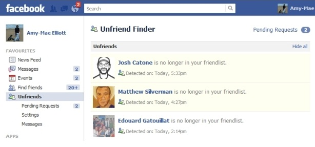 How to see who unfriends you on Facebook