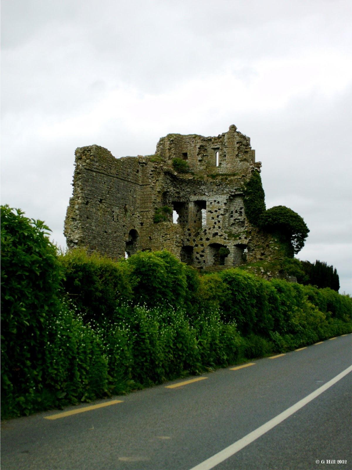 Ireland In Ruins Carrick Castle Co Kildare