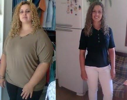 Depois da perda de peso como muito