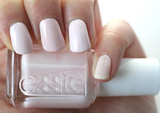Essie Winter 2015 Virgin Snow Comparisons Essie Envy