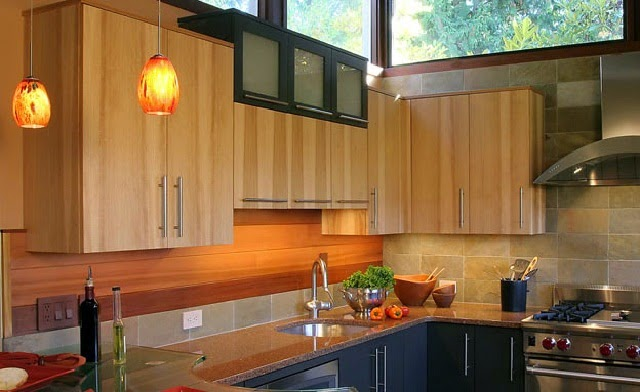 Mid century kitchen designs ayanahouse for Century style kitchen cabinets