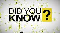 Did You Know? A video originally by Karl Fisch and Scott McLeod