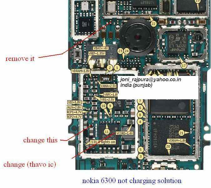 Nokia 6300 Not Charging Picture Repair Guide