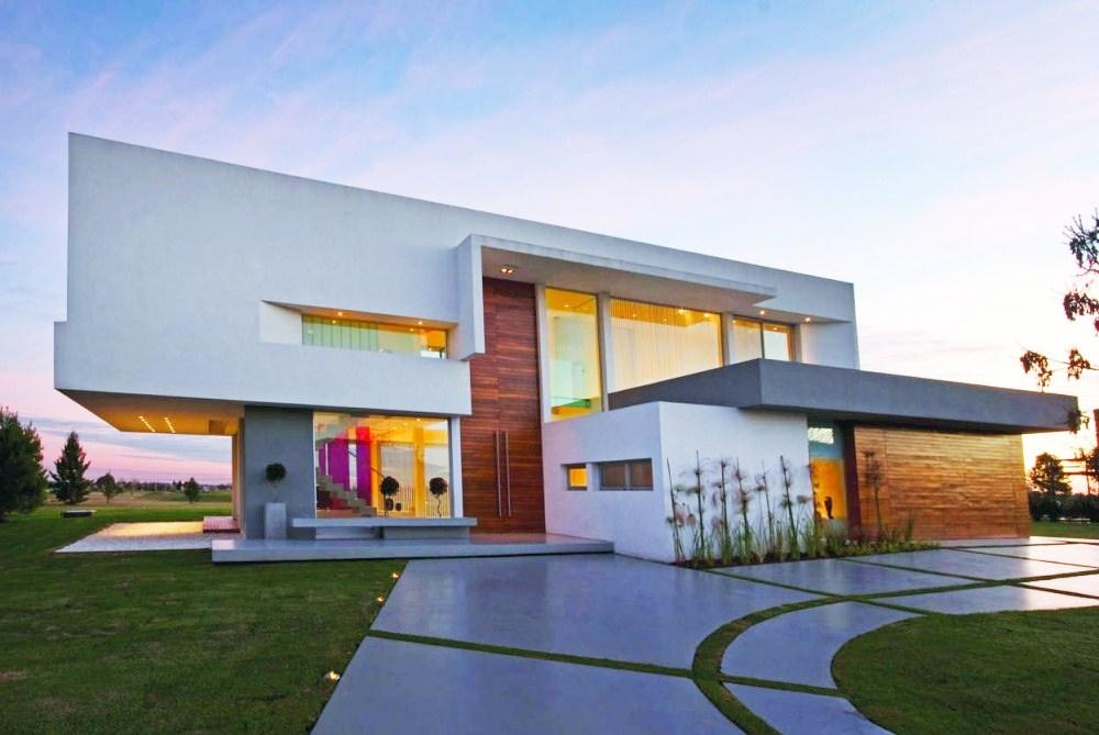 Djhonatan box 39 s casas contempor neas sem telhado aparente for Fachadas de casas contemporaneas modernas