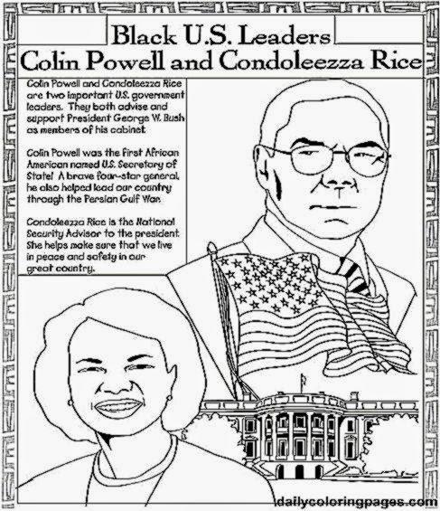 Black history coloring sheets free coloring sheet for Black history month coloring pages