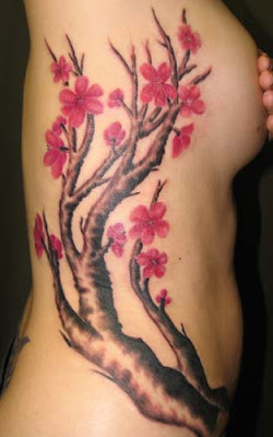 cherry blossom tattoo